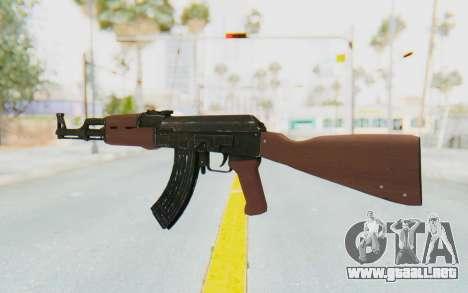 GTA 5 Shrewsbury Assault Rifle para GTA San Andreas tercera pantalla