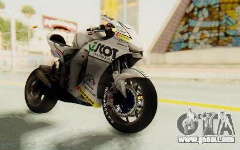 Honda RC212V para la visión correcta GTA San Andreas