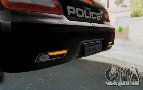 ASYM Desanne XT Pursuit v2 para GTA San Andreas interior