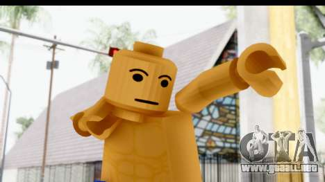 LEGO Carl Johnson para GTA San Andreas