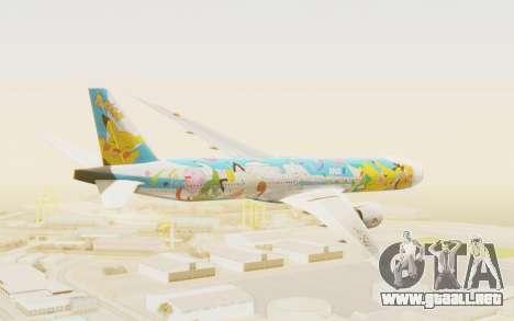 Boeing 777-300ER ANA JA754A - Peace Jet para la visión correcta GTA San Andreas