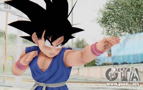 Dragon Ball Xenoverse Goku Kid GT SJ para GTA San Andreas