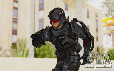 CoD Advanced Warfare ATLAS Soldier 1 para GTA San Andreas