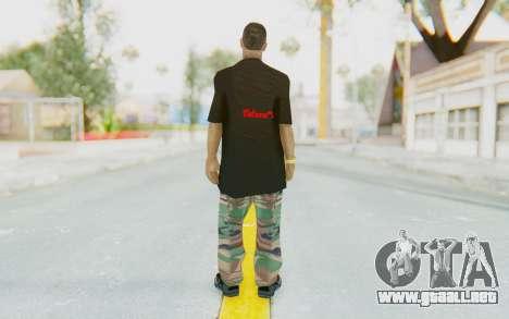 The King Skin para GTA San Andreas tercera pantalla