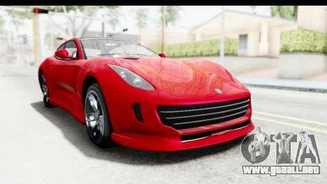 GTA 5 Grotti Bestia GTS IVF para la visión correcta GTA San Andreas