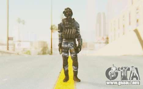 Federation Elite SMG Urban-Navy para GTA San Andreas segunda pantalla