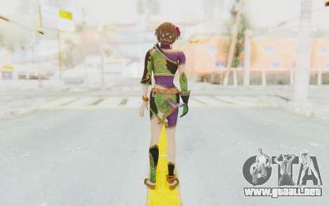 Musou Orochi 2: Ultimate - Sun Shangxiang v2 para GTA San Andreas tercera pantalla