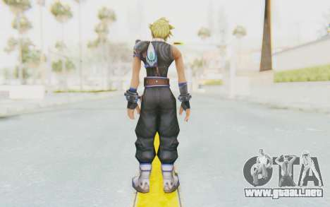 Final Fantasy - Cloud Deus para GTA San Andreas tercera pantalla