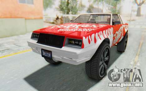 GTA 5 Willard Faction Custom Donk v3 IVF para el motor de GTA San Andreas