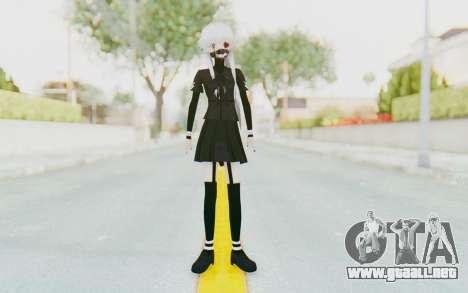 Gasai Yuno Ghoul para GTA San Andreas segunda pantalla