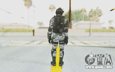 Federation Elite Shotgun Arctic para GTA San Andreas tercera pantalla