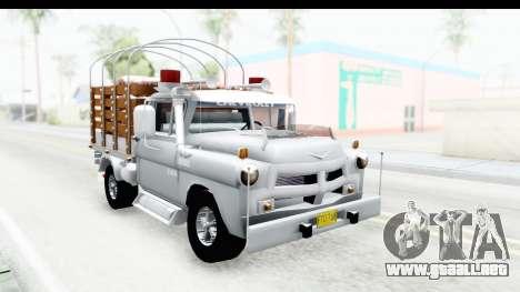 Chevrolet 3100 Diesel v2 para la visión correcta GTA San Andreas