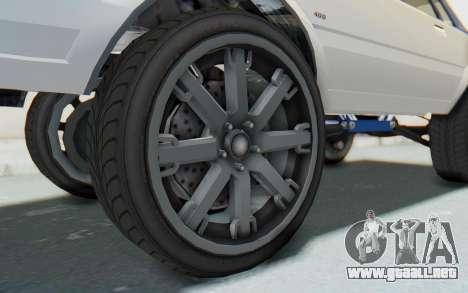 GTA 5 Willard Faction Custom Donk v2 para GTA San Andreas vista hacia atrás
