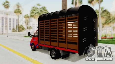 GAZelle 33021 Lápiz Colombia para GTA San Andreas left