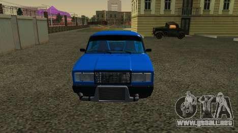 VAZ 2107 Deporte para GTA San Andreas left