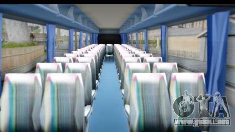 Neoplan Lasta Bus para GTA San Andreas vista hacia atrás