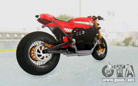 Honda CB750 Moge Cafe Racer para la visión correcta GTA San Andreas