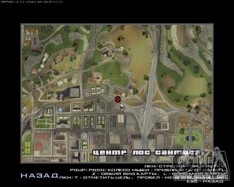 New Vinewood Armenia para GTA San Andreas sexta pantalla