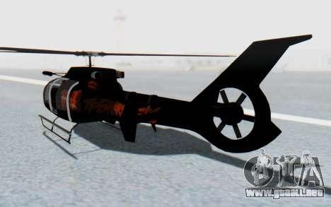 GTA 5 Maibatsu Frogger FIB IVF para GTA San Andreas left