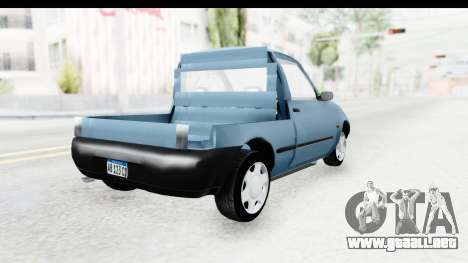 Ford Courier 2016 para GTA San Andreas left