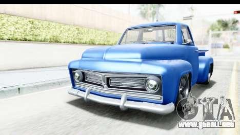 GTA 5 Vapid Slamvan without Hydro IVF para la visión correcta GTA San Andreas