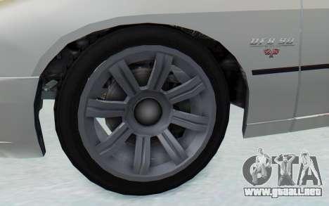 GTA 5 Imponte DF8-90 para GTA San Andreas vista hacia atrás