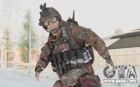 COD MW2 Russian Paratrooper v2 para GTA San Andreas