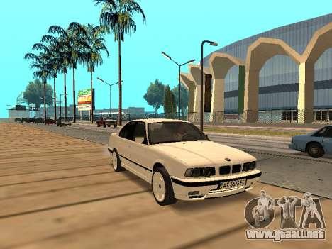 BMW E34 - EK edition para GTA San Andreas left