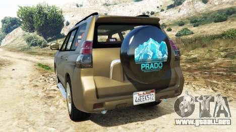 Toyota Land Cruiser Prado 2012 para GTA 5