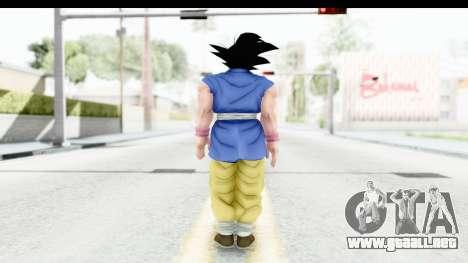 Dragon Ball Xenoverse Goku GT Adult SJ para GTA San Andreas tercera pantalla