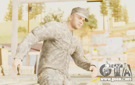 Military Casual Outfit para GTA San Andreas
