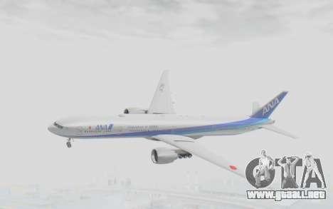 Boeing 777-300ER ANA JA735A para GTA San Andreas