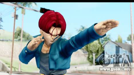 Dragon Ball Xenoverse Future Trunks SSG para GTA San Andreas