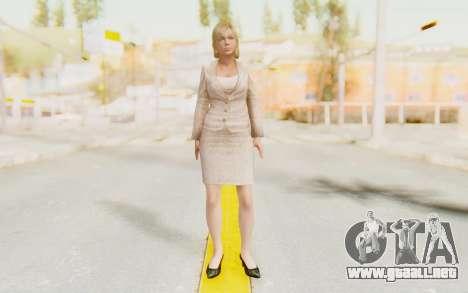 Dead Rising - Jessica McCartney para GTA San Andreas segunda pantalla