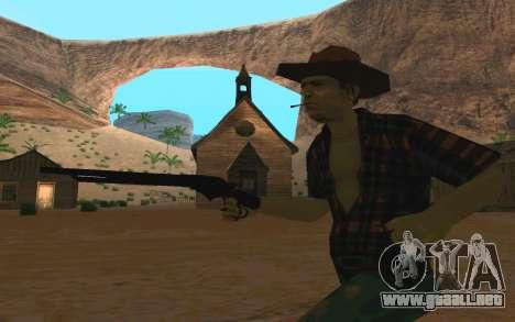 Winchester Model 1887 para GTA San Andreas segunda pantalla