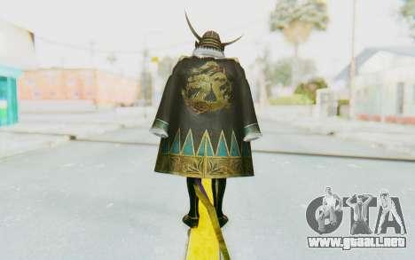 Sengoku Musou 4 - Date Masamune para GTA San Andreas tercera pantalla