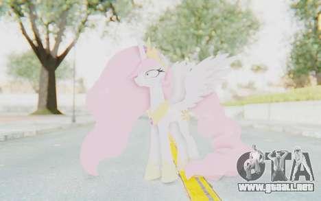 Princess Molestia MLP para GTA San Andreas segunda pantalla