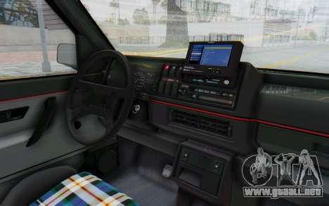 Volkswagen Golf Mk2 Lemon para visión interna GTA San Andreas
