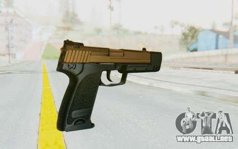 HK USP 45 Sand Frame para GTA San Andreas segunda pantalla