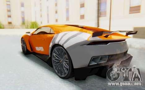 GTA 5 Pegassi Reaper SA Lights para visión interna GTA San Andreas