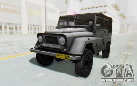 UAZ-460Б para GTA San Andreas