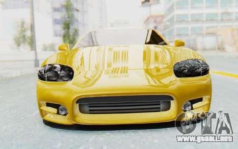 Mitsubishi 3000GT 1999 para visión interna GTA San Andreas
