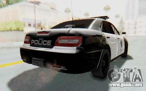 ASYM Desanne XT Pursuit v1 para GTA San Andreas left