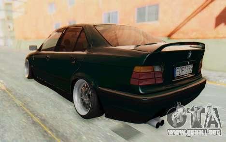 BMW 325tds E36 para GTA San Andreas left