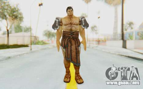 Hercules Skin v3 para GTA San Andreas segunda pantalla