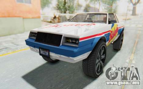 GTA 5 Willard Faction Custom Donk v3 para vista inferior GTA San Andreas