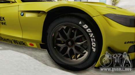 BMW Z4 Liberty Walk para GTA San Andreas vista hacia atrás