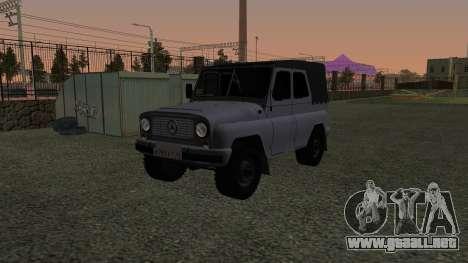 UAZ-469 para GTA San Andreas