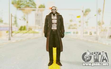 Marvel Future Fight - Punisher (Noir) para GTA San Andreas segunda pantalla