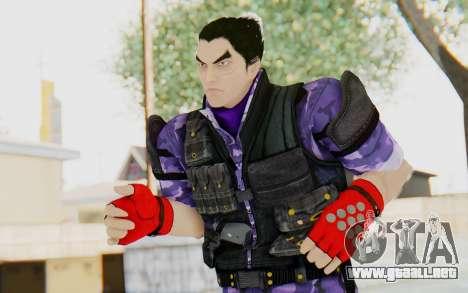 Kazuya Mishima (Ops Suit) para GTA San Andreas